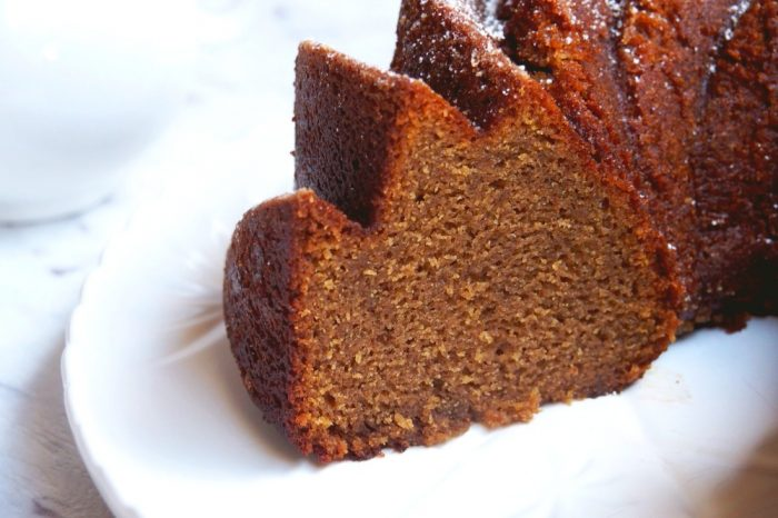 Ginger beer bundt cake 5