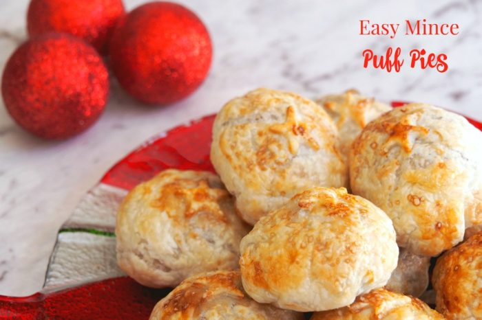 Easy Mince Puff Pies