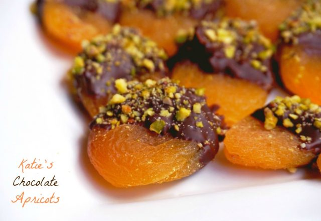 Katie's Chocolate Apricots