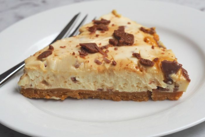 Crunchie Cheesecake 5