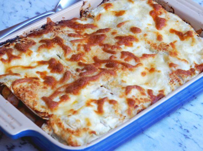 Easy Veggie Lasagne 4