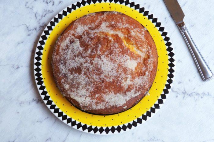 gluten free lemon drizzle cake 5