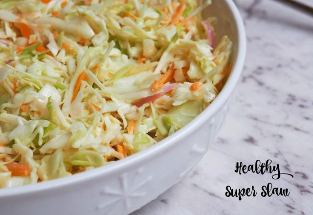Healthy Super Slaw