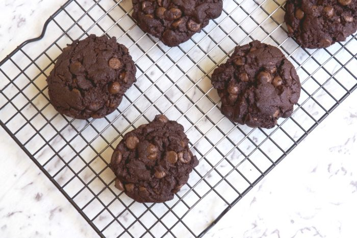 Nigella's Totally Choc Chip Cookies 2