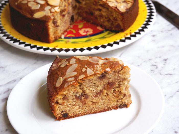 Cherry, Almond and Sultana Cake 6