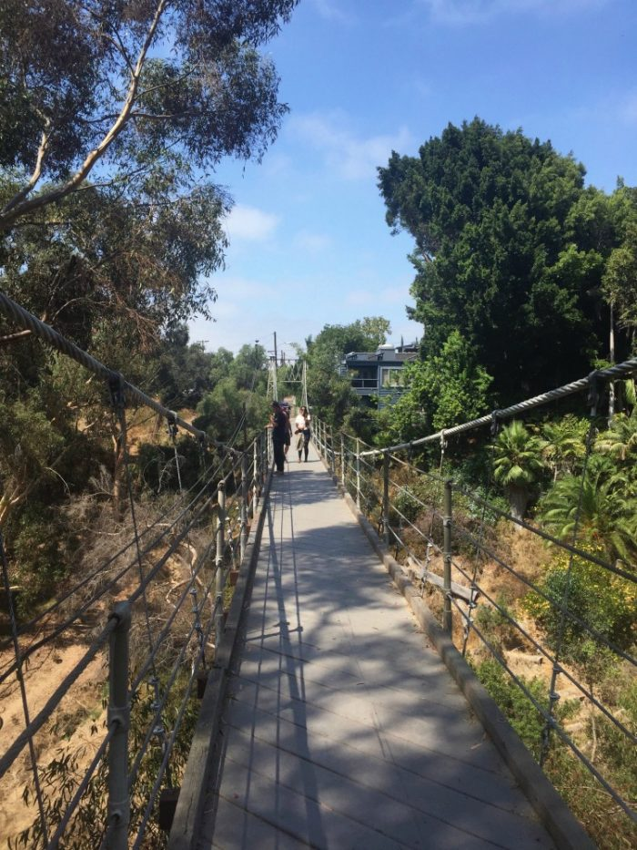 10 things to see and do in San Diego - Spruce Street Suspension Bridge