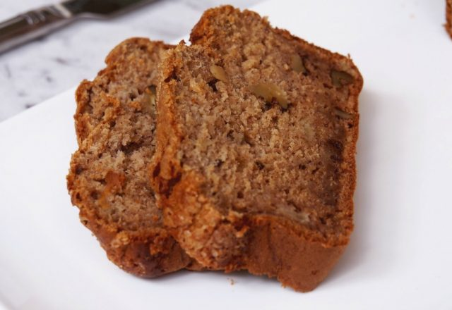 Apple, Banana and Walnut Bread
