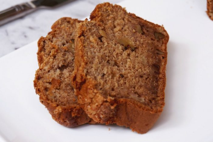 Banana, Apple and Walnut Bread 2
