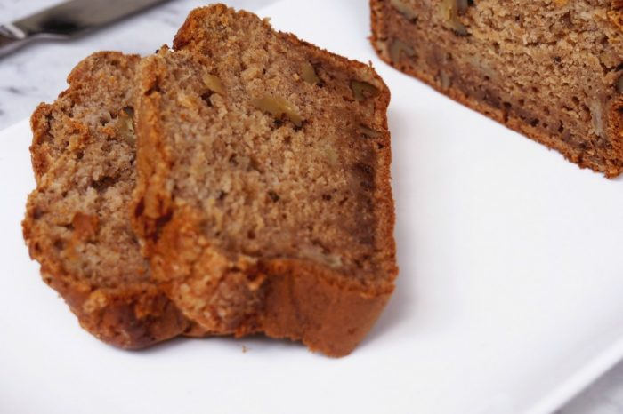 Banana, Apple and Walnut Bread 3