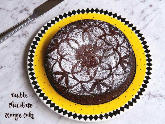 Double Chocolate Orange Cake