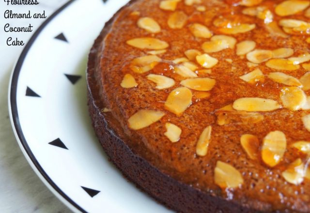 Flourless Coconut and Almond Cake