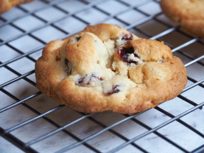 Gooey Chocolate and Cranberry Cookies 3