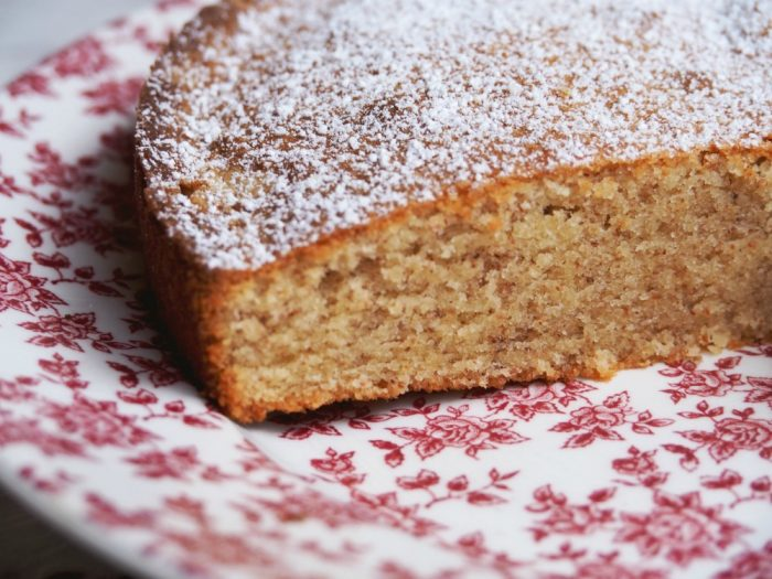 Rich Almond Cake 2