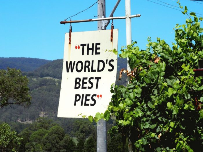 A weekend in Kangaroo Valley - Worlds Best Pies