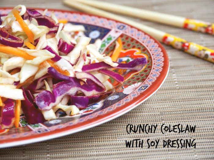 Asian Coleslaw with Soy Dressing 1