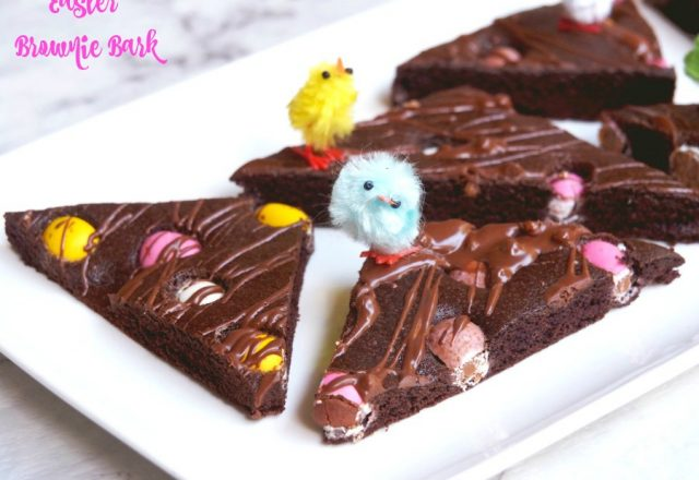 Easter Brownie Bark