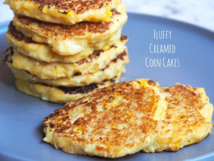 Fluffy Creamed Corn Cakes 1