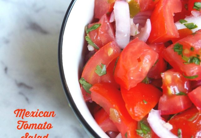 Meatless Monday – Mexican Tomato Salad