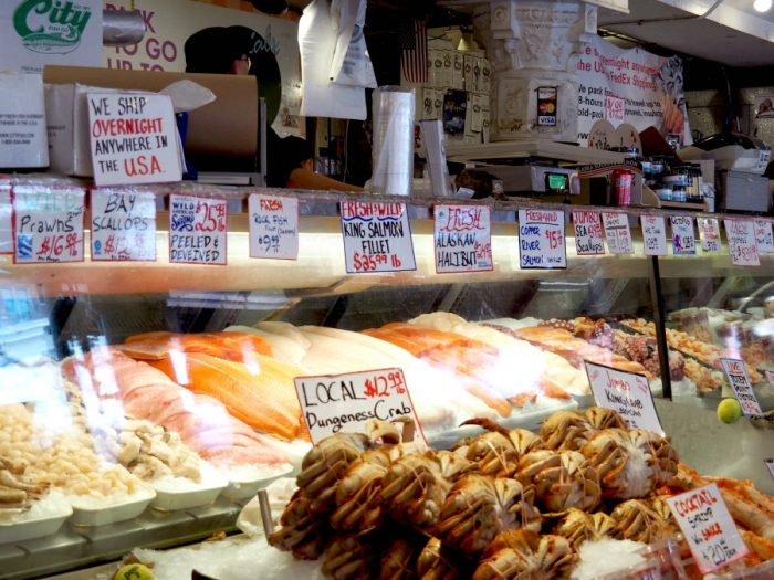 Things to see and do in Seattle - fish Pike Place Market