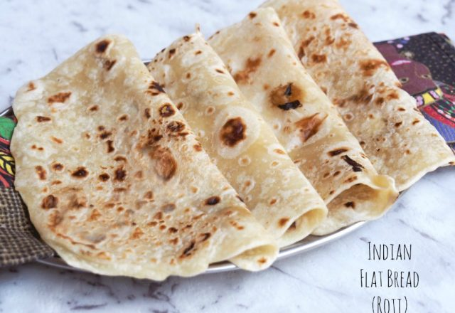 Indian Flat Bread – Roti