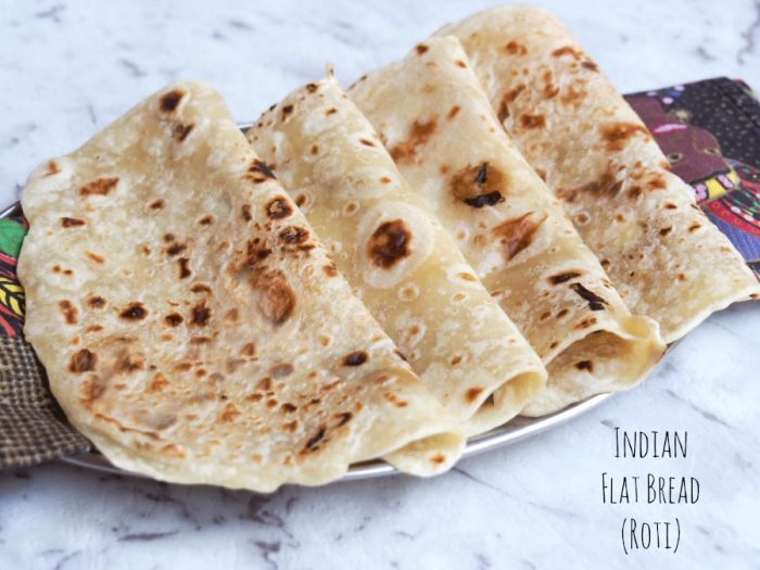 Indian flat bread (roti)