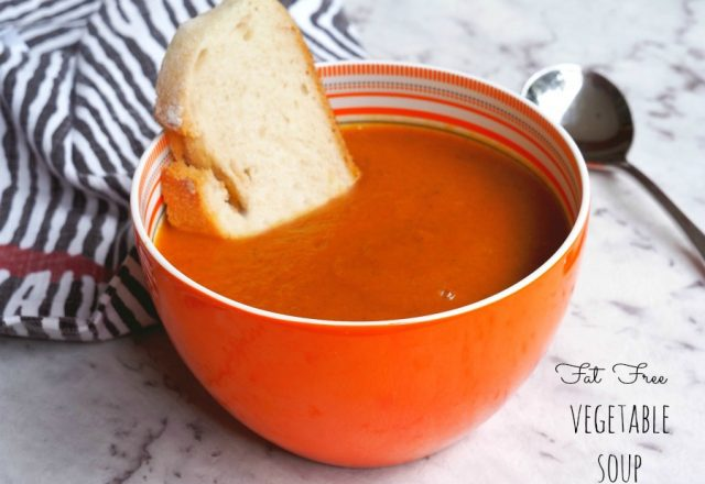 Fat Free Vegetable Soup