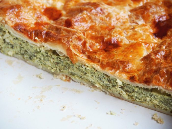 Easy Spinach Ricotta and Feta Pie 4