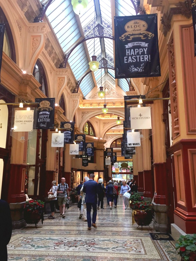 48 more hours in Melbourne - Block Arcade