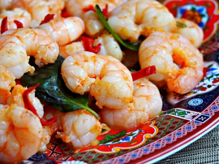 Chilli Basil Prawn Stir Fry 3