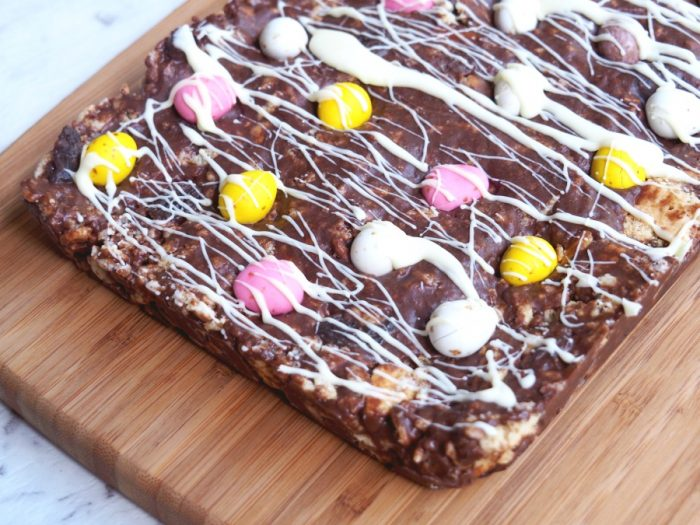 Easter Chocolate Fridge Cake 2