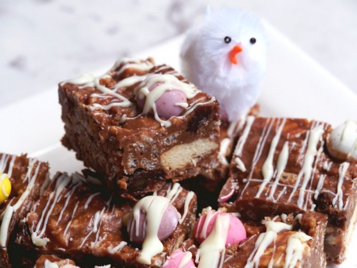 Easter Chocolate Fridge Cake 4