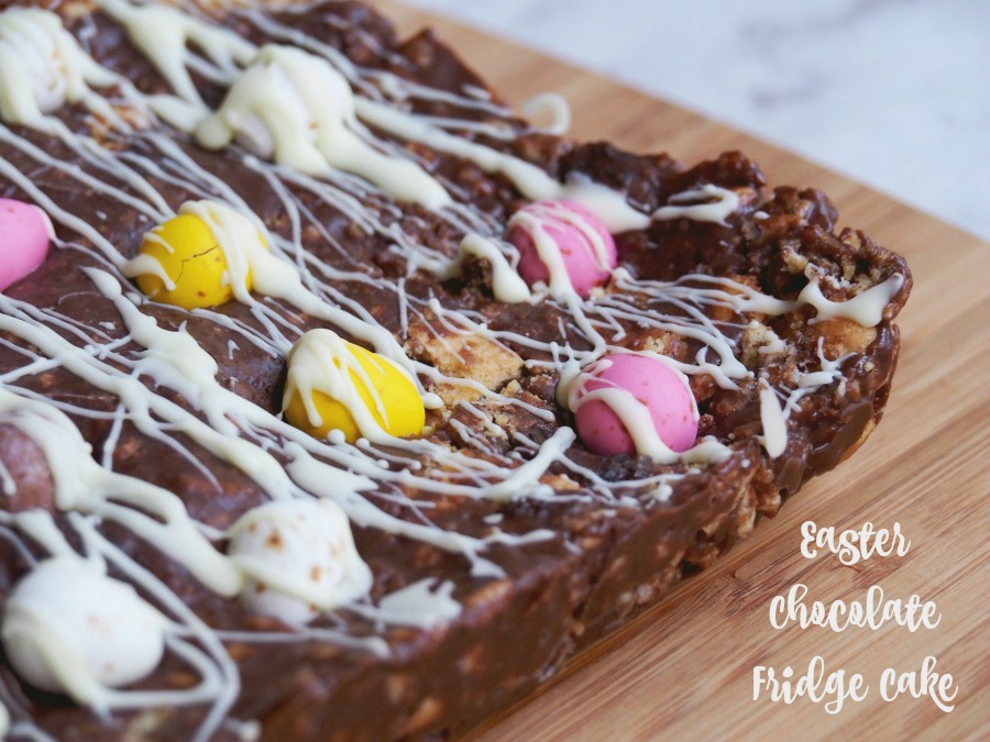 Easter Chocolate Fridge Cake 7