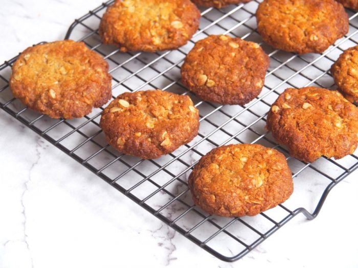 Chantal's Thermomix Anzac Biscuits 3