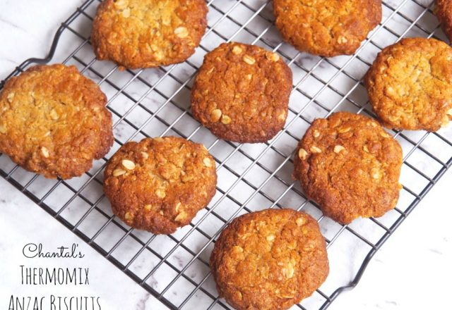 Chantal's Thermomix ANZAC Biscuits
