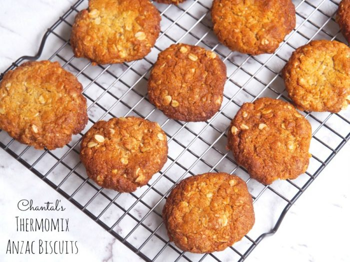 Chantal's Thermomix Anzac Biscuits 5
