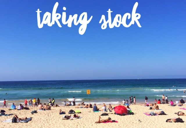 Taking Stock – April 2018