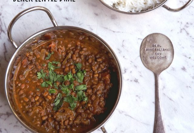 Meatless Monday – Slow Cooker Black Lentil Dhal