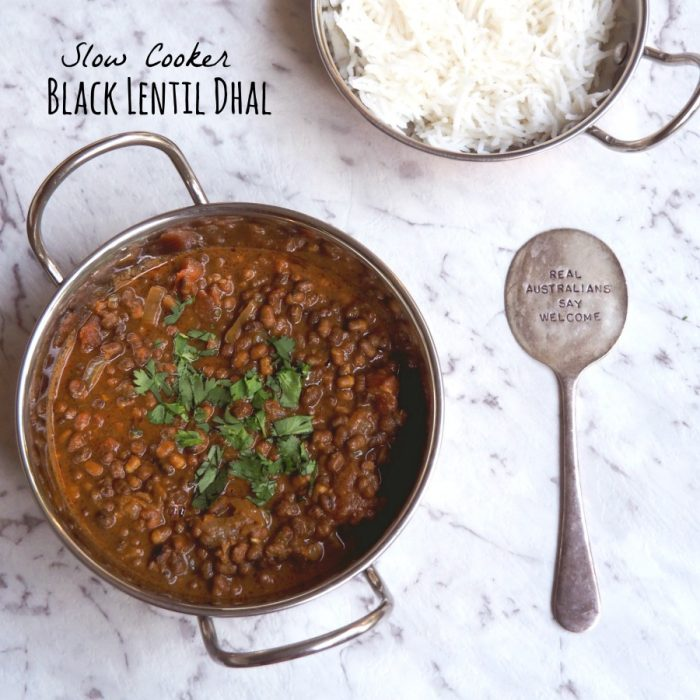 Black Lentil Dhal 1