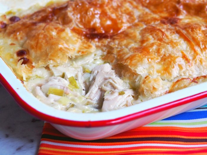 Slow Cooker Chicken and Leek Pie 2