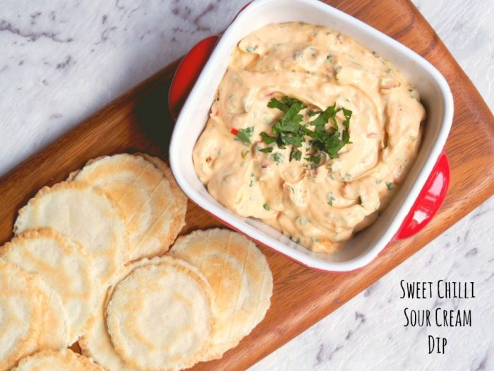 Sweet Chilli Sour Cream Dip