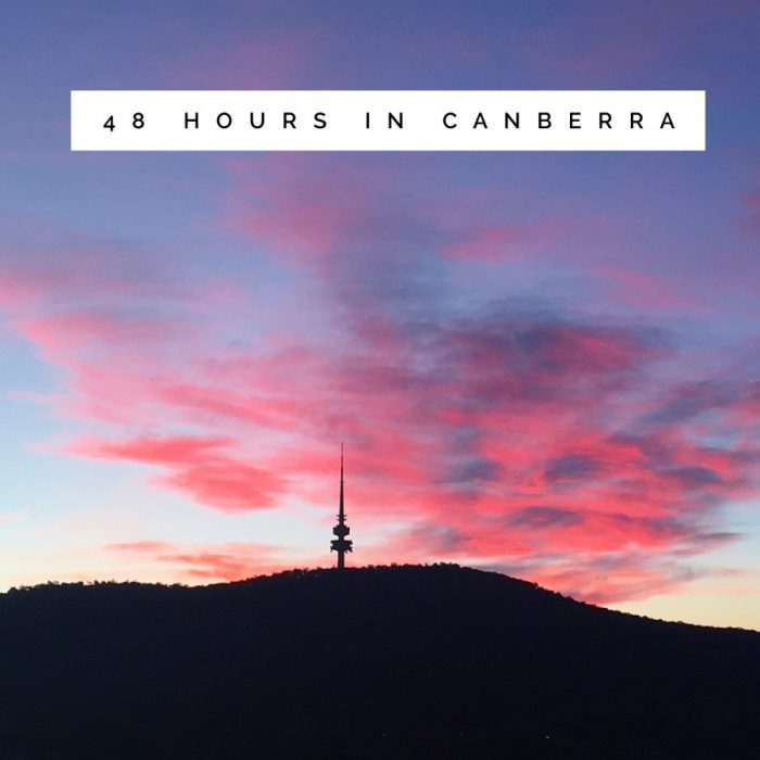 48 hours in Canberra