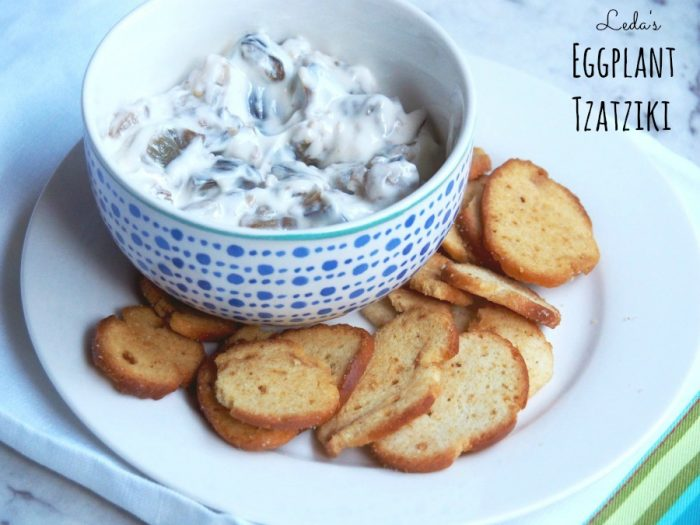 4 ingredient eggplant dip