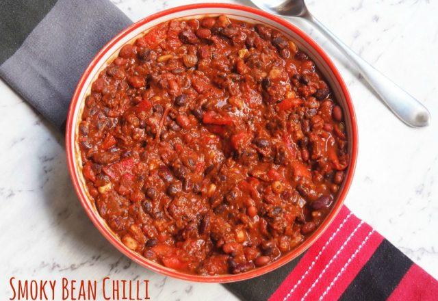 Meatless Monday – Smoky Bean Chilli