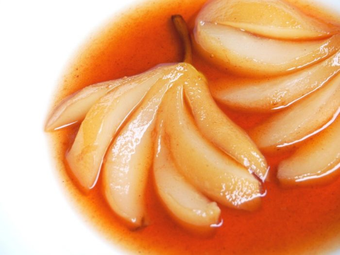 Slow cooker Blushing Pears 5