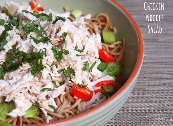 cold chicken noodle salad 4