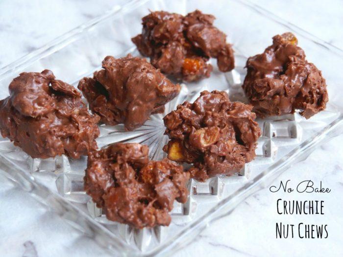 No Bake Crunchie Nut Chews