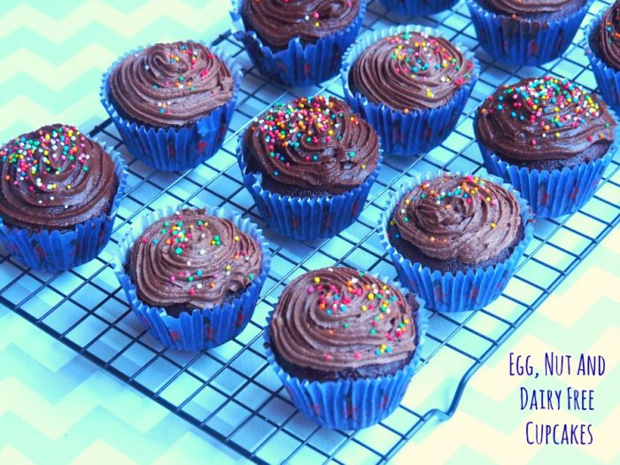 Egg, Nut and Dairy Free Cupcakes 5