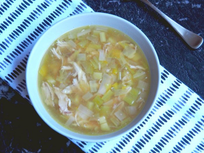 Emily's Chicken, Leek and Potato Soup 4