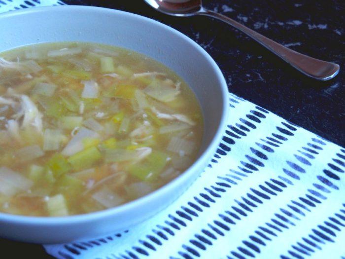 Emily's Chicken, Leek and Potato Soup 1