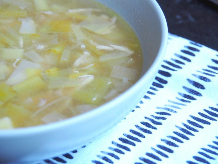 Emily's Chicken, Leek and Potato Soup 2